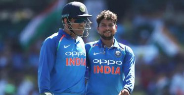 Kuldeep Yadav gives with an interesting reply when asked about MS Dhoni's absence
