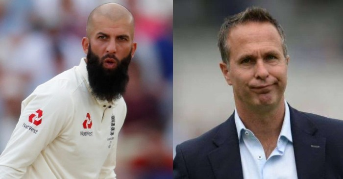 Moeen Ali and Michael Vaughan