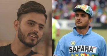 Nitish Rana reveals about locking himself in a room and crying whenever Sourav Ganguly got out
