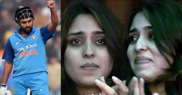 Rohit Sharma reveals the reason behind Ritika crying after his third double-ton