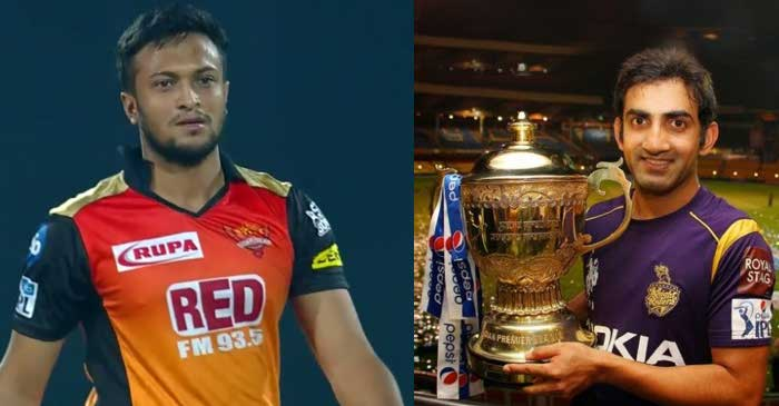 Shakib al Hasan names Gautam Gambhir as captain in his IPL XI featuring players he played with