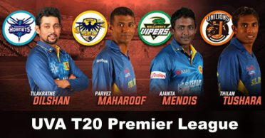 Sri Lanka UVA T20 Premier League: Fixtures, Match Timings, Squads and Live Streaming details
