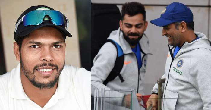 Umesh Yadav responds hilariously when asked to pick one between MS Dhoni and Virat Kohli