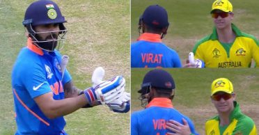 ICC shares video of Virat Kohli's warm gesture towards Steve Smith at the 2019 World Cup