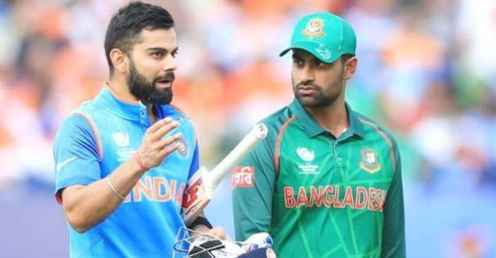 Virat Kohli and Tamim Iqbal