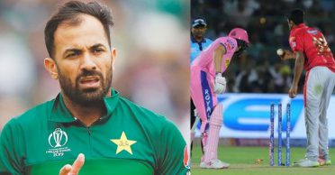 Wahab Riaz delivers his opinion on 'Mankad' dismissal