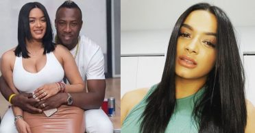 Andre Russell's wife Jassym Lora hits back at netizen for a body-shaming comment