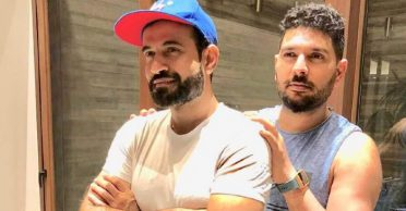 Yuvraj Singh humorously trolls Irfan Pathan after latter compares his bowling action to a Sifaka