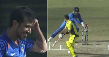 Yuvzvendra Chahal recalls how he made Glenn Maxwell his bunny with MS Dhoni's assistance