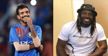 Chris Gayle takes a dig at Yuzvendra Chahal over his bowling, gets a savage reply