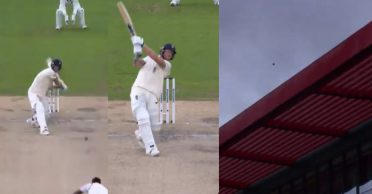 ENG vs WI: WATCH – Ben Stokes smokes a massive six in the Old Trafford Test