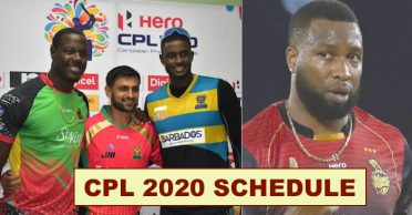 CPL 2020 fixtures announced; Trinbago Knight Riders to face Guyana Amazon Warriors in the tournament opener