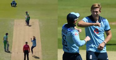ENG vs IRE: WATCH – England pacer David Willey rattles Ireland in first ODI after comeback