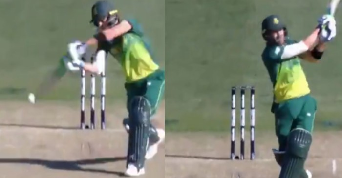 Birthday Special – WATCH: When Faf du Plessis plundered Australian bowling attack with glorious sixes