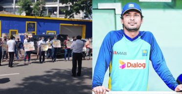Protests start in Sri Lanka after police questions legendary Kumar Sangakkara in 2011 WC final fixing accusations