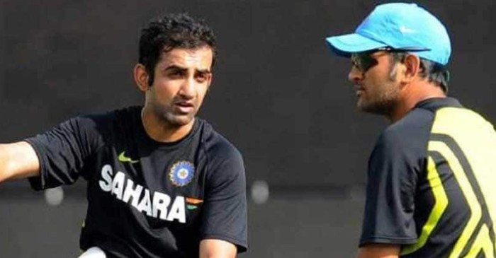 """We slept on floor…"" : When Gautam Gambhir shared a room with MS Dhoni"