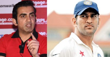 """""""Dhoni has been a fortunate captain because he got an amazing team in every format,"""" reckons Gautam Gambhir"""