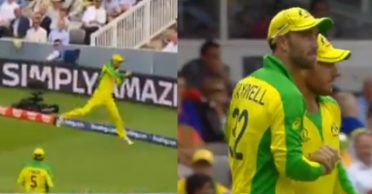 Friendship day special: ICC shares a video of Glenn Maxwell and Aaron Finch's superb tag-team catch