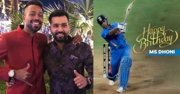 Rohit Sharma, Hardik Pandya wish 'Mr Cool' MS Dhoni on his 39th birthday