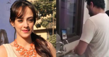 Hazel Keech hilariously trolls Yuvraj Singh after his mother shoots a video of him cleaning utensils