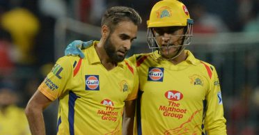 Imran Tahir reveals a heartwarming story from the time he first met MS Dhoni