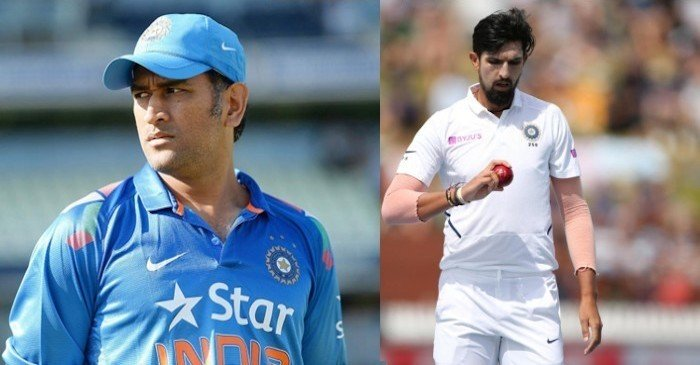 Ishant Sharma opens up about his camaraderie with former Indian captain MS Dhoni