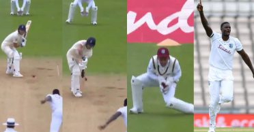 ENG vs WI: WATCH – Jason Holder dismisses Ben Stokes with peach of a delivery