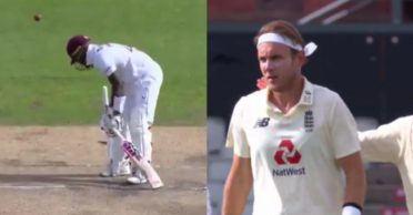 ENG vs WI: WATCH – Stuart Broad castles Jermaine Blackwood with an unplayable delivery