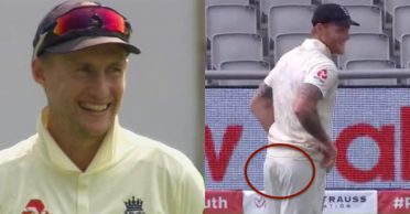 ENG vs WI: Joe Root couldn't stop laughing as Ben Stokes tries to hide 'brown stain' on his trousers