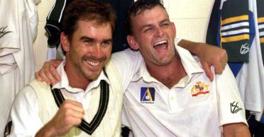 'Look, what you have done to me': When Justin Langer 'grabbed' Adam Gilchrist by neck and 'chucked' him against the wall
