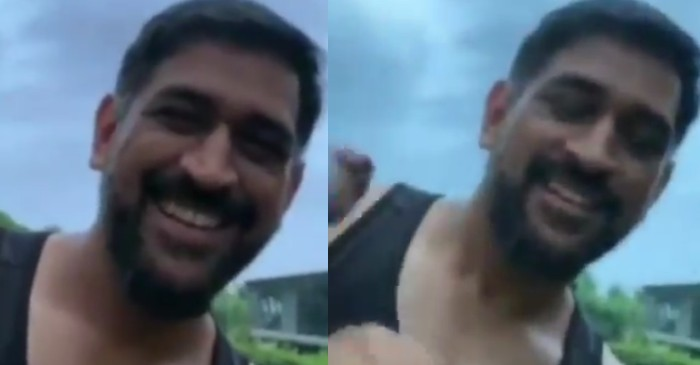 Chennai Super Kings (CSK) shares a short video of MS Dhoni's new look