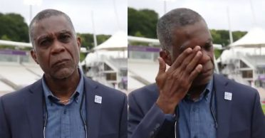 WATCH: Michael Holding breaks down on air while recalling memories of racism faced by his parents