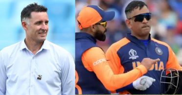 'Hope he keeps playing for another 10 years': Michael Hussey praises MS Dhoni and Virat Kohli