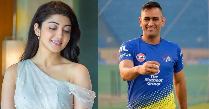 Pranitha Subhash, MS Dhoni