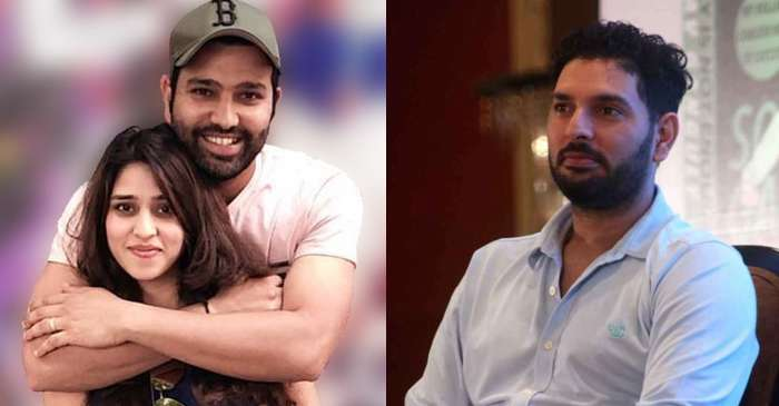 Yuvraj Singh pokes fun at Rohit Sharma's picture with Ritika ...