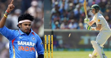 S. Sreesanth claims of uprooting Steve Smith's middle stump and saying 'thank you'