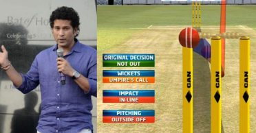 Sachin Tendulkar suggests that ICC should look at DRS reviews without weightage to umpire's call