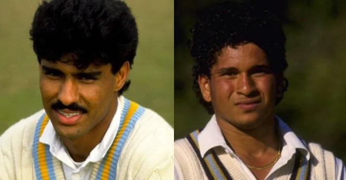 Waqar Younis shares his first memory of Sachin Tendulkar, asks 'Who scores triple-centuries at school?'