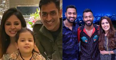 Sakshi shares a picture from Pandyas' visit to MS Dhoni's farmhouse in Ranchi