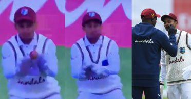 ENG vs WI: WATCH – Shane Dowrich takes a nasty blow on the face, walks out of the field