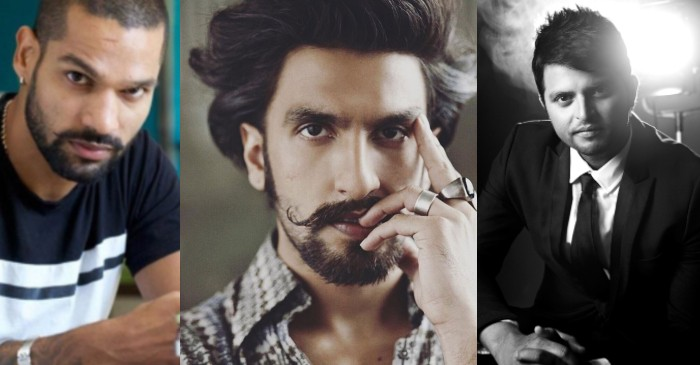 Shikhar Dhawan, Ranveer Singh, Suresh Raina