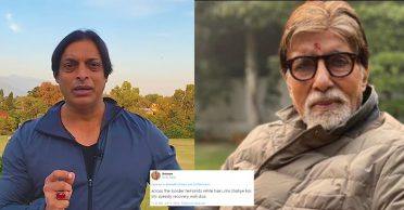 Shoaib Akhtar hits back at netizen for questioning his recovery wish for Amitabh Bachchan