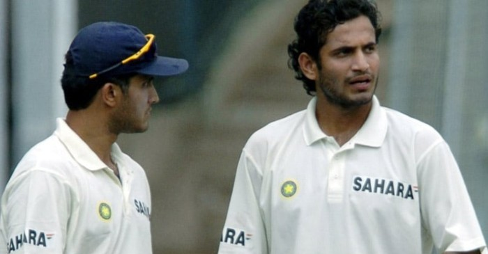 Sourav Ganguly and Irfan Pathan