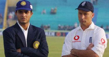 Sourav Ganguly reacts to Nasser Hussain's 'coming late to toss' allegations