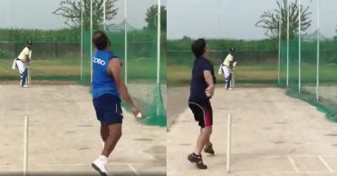 WATCH: Suresh Raina, Mohammed Shami and Piyush Chawla hits the nets together in Amroha