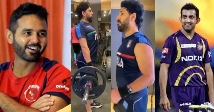 Parthiv Patel and Gautam Gambhir mock Yuvraj Singh on his latest fitness video
