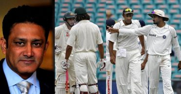 Anil Kumble reveals why Team India did not pull out of Australia tour after the controversial Sydney Test