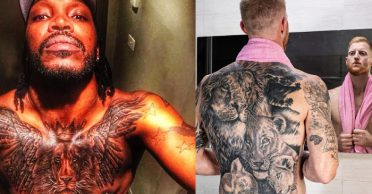 Rajasthan Royals and Kings XI Punjab engage in a funny banter over Ben Stokes and Chris Gayle tattoos