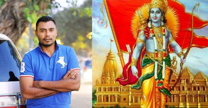 "Danish Kaneria responds brilliantly to a fan's ""stay safe"" tweet on Ram Mandir foundation"