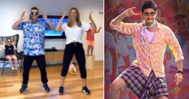 David Warner dances to 'Mind Block' song with family; wishes Mahesh Babu on his 45th birthday